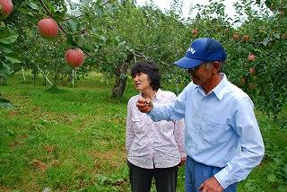 軌跡のりんごを生んだ夫婦